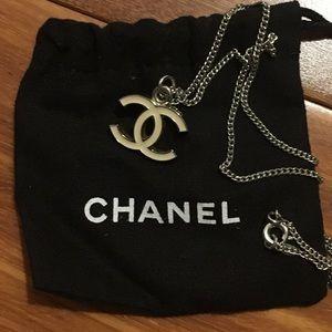 Authentic Chanel Enamel Pendant Necklace